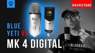 Review: Sennheiser MK 4 digital vs. Blue Yeti – Backstage, Teil 1 «Ton» [Deutsch / German]