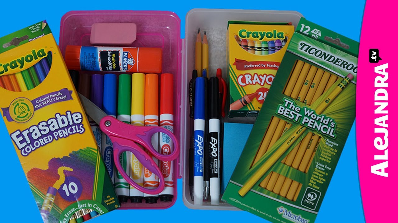 How To Organize Your Pencil Case Pencil Box Organization