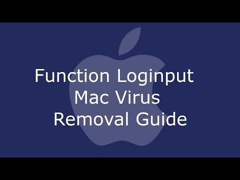 Function Loginput Mac Virus Removal