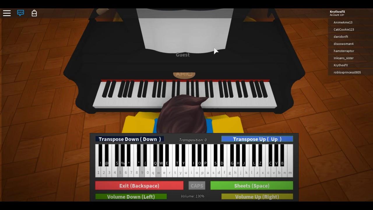 Roblox Piano Sam Smith Too Good At Goodbyes Youtube