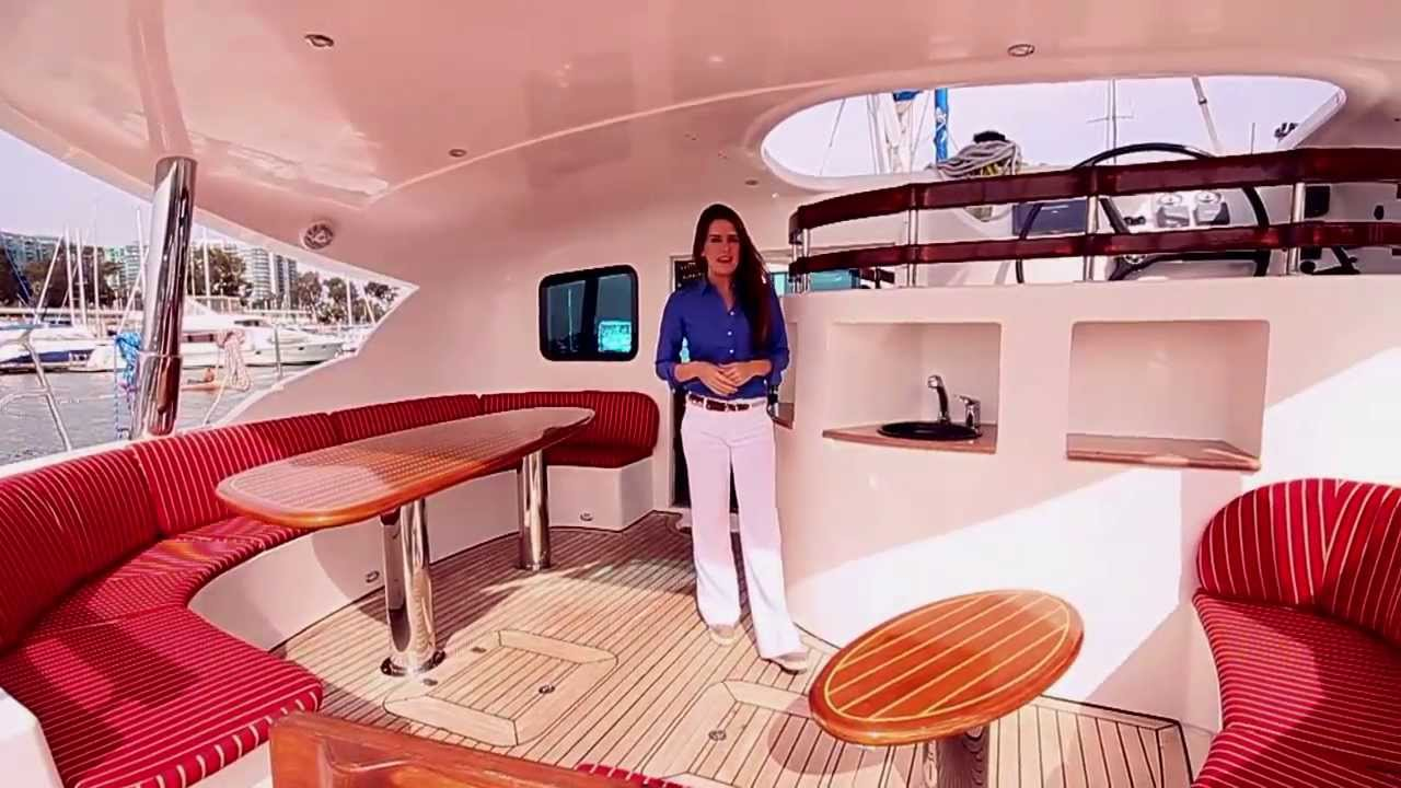 Sold Coco Puff 50 Ft Catamaran Sold Youtube