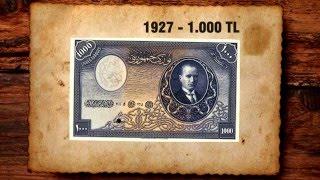 Geçmişten Günümüze Türk Paraları - Banknotlar