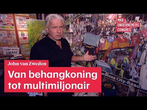 John Van Zweden.John Van Zweden Van Behangkoning Tot Multimiljonair Mkb Ondernemerscongres