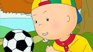 Caillou and the Soccer Game - CARTOON FOOTBALL - Videos For Kids - Cartoon Movie