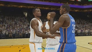 NBA 2K15 My Career PS4 | Kevin Durant Fight