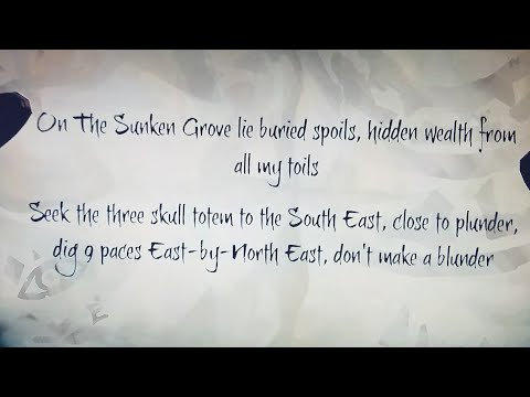 SUNKEN GROVE SEA OF THIEVES *RIDDLE IN DESCRIPTION*