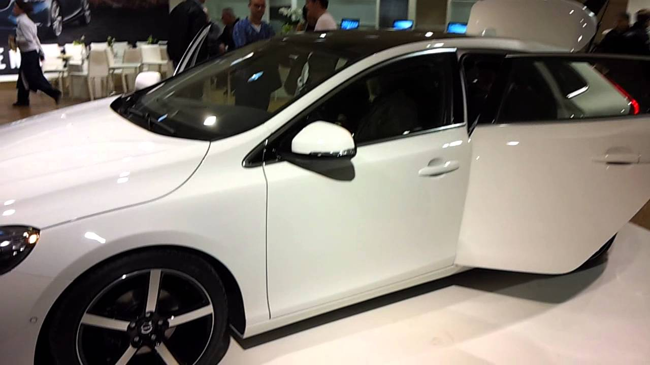 Volvo V40 Preview Volvo Nederland Youtube