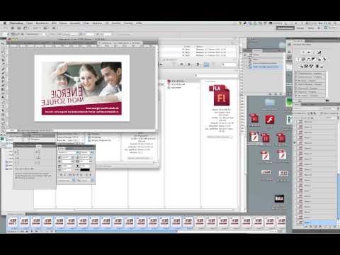Komplexere 3D Flash Animation in GIF-Animation umwandeln über Photoshop