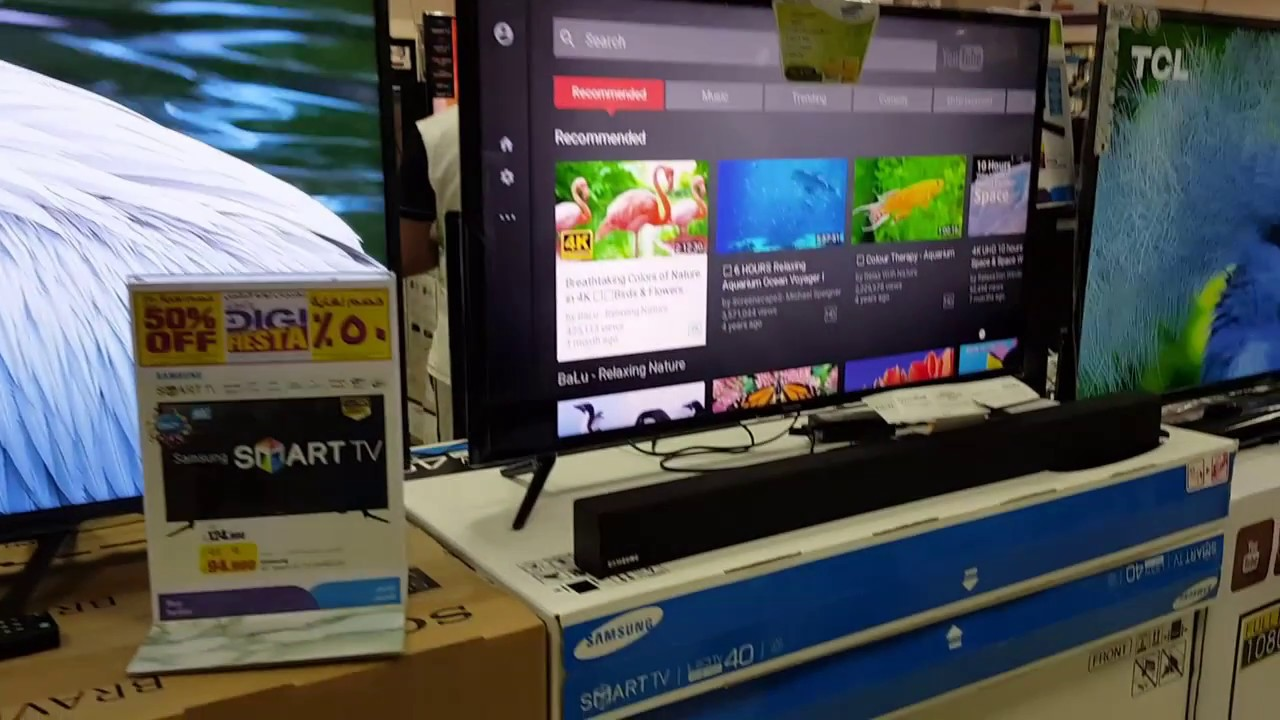 Smart Tvs At Lulu Hypermarket Fahaheel Youtube
