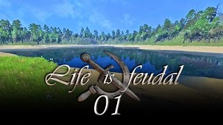Life is Feudal #01 - Start am Miami Beach [Gameplay German Deutsch] [Let