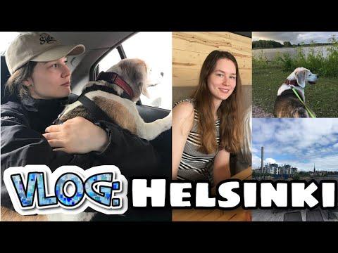 Day in Helsinki VLOG in Finnish ☆ Päivä Helsingissä (dual Fin/Eng subs)