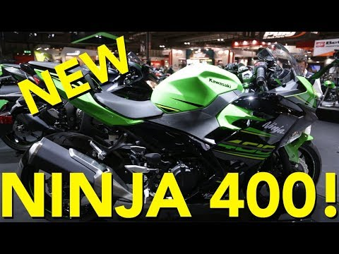 2018 Kawasaki Ninja 400 First Look