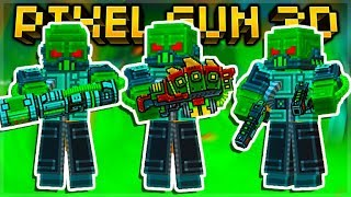 I UNLOCKED EVERY SUPER MUTANT SET WEAPONS BUT WAS IT WORTH IT! | Pixel Gun 3D