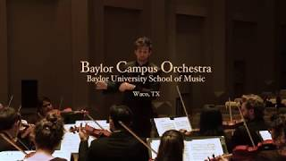 Baylor Campus Orchestra: Gluck's Symphony in G Major