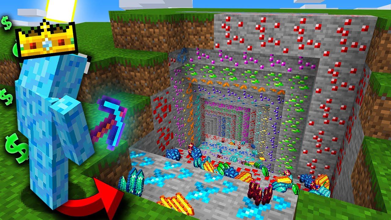 MILLIONAIRE ONLY MINE!   Minecraft Prisons