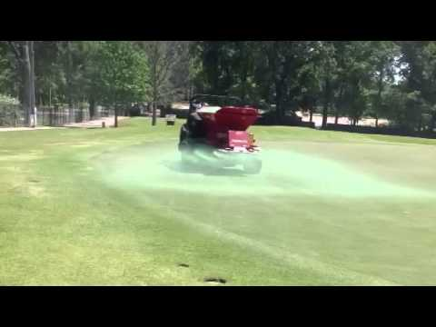 Topdressing Using Green Sand