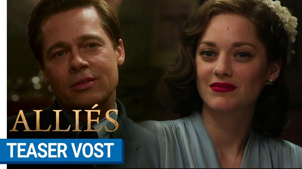 ALLIÉS - Teaser #1 (VOST) [au cinéma le 23 novembre 2016]