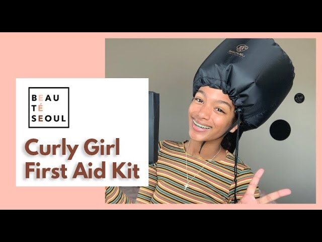 Define curls with Beauté Seoul 'Curly Girl First Aid Kit'