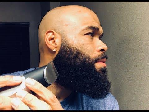 How To Trim Your Beard Cheek Line Sharp Beard Line Youtube