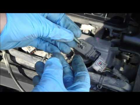 How to replace ignition coil Toyota Yaris 1999 to 2005