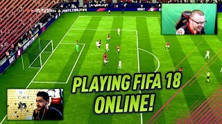 PLAYING FIFA 18 ONLINE EARLY! My First FIFA 18 Online Game vs Ovvy