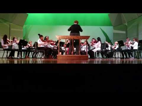 South Milwaukee Middle School Orchestra 6th grade 12/15/16