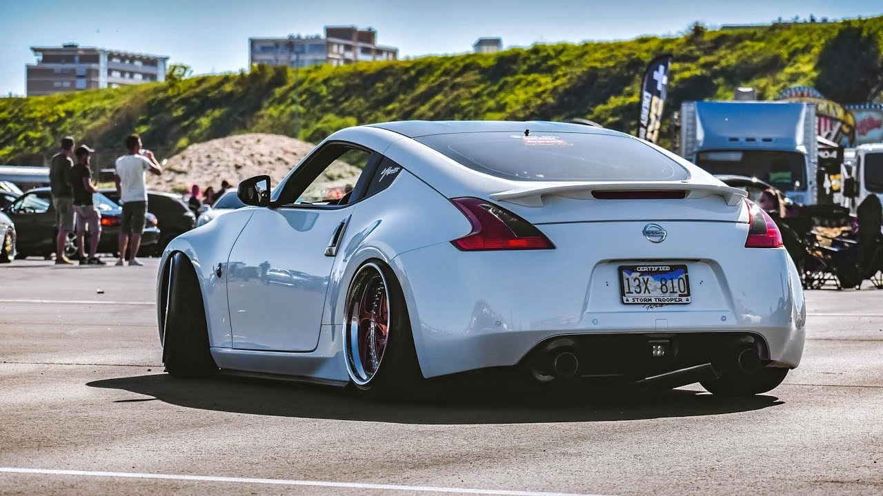 6x modified nissan 350z 370z wheelspins sounds details youtube - Nissan 350z modified ...