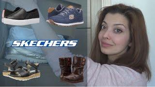 SKECHERS (Memory Foam) - моя любимая обувь. Обзор  с примеркой.