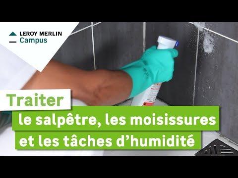 Comment traiter le salpêtre, les moisissures et les taches d'humidité ?
