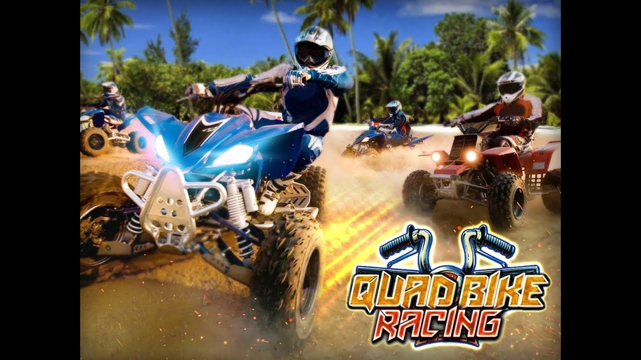 Atv Quad Bike Beach Stunt Race 3d Car Driving Games 4 Kids