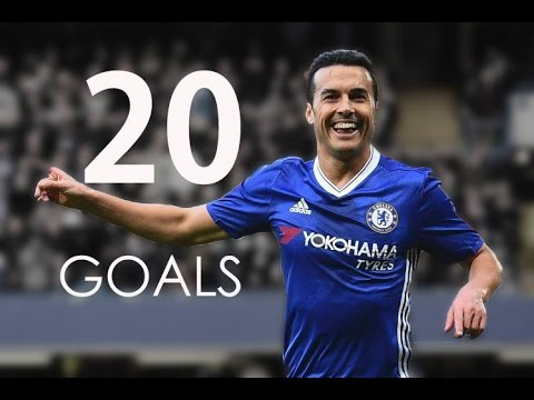 Pedro Rodríguez - First 20 Goals For Chelsea FC - HD