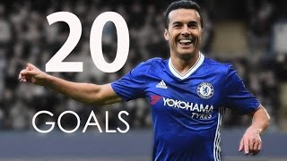 Pedro Rodrguez - First 20 Goals For Chelsea FC - HD