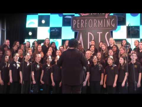 Diablo Vista Middle School Choir performs at California Adventure Part II