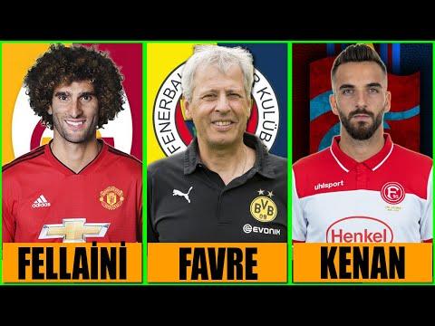 TRANSFER HABERLERİ 2021 🔥 Lucien Favre Fenerbahçe ⚽ Fellaini Galatasaray ⚽ Spor