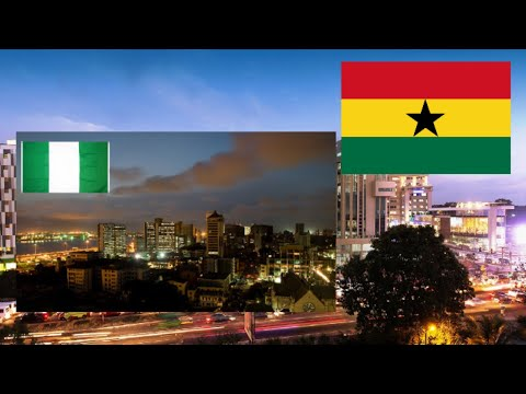 Accra Ghana  VS  Lagos Nigeria   Which City Is More Beautiful