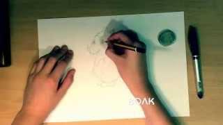 Видеоуроки по рисованию животных- (волк)
