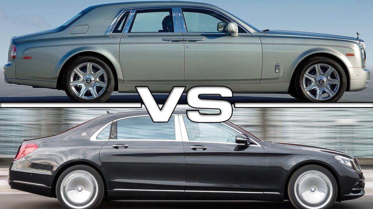 cadillac vs mercedes vs rolls royce Mercedes maybach s600 vs bentley mulsanne vs rolls royce  mercedes cls 63 amg shooting brake vs mercedes  2018 rolls royce phantom vs.