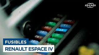 Changer les Fusibles d'habitacle - Renault Espace