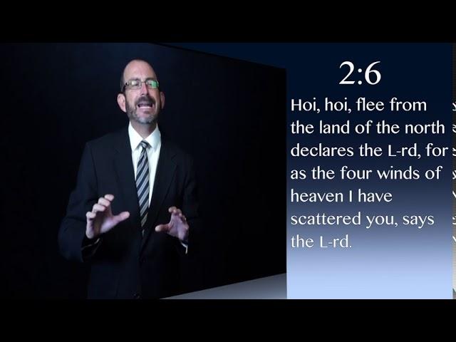 Zacarías capítulo 2 - Dr. Baruch Korman