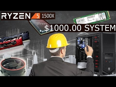 Ryzen 5 1500x Gaming System for $1000 Canadian (or $675.00 USD.!? WTF)