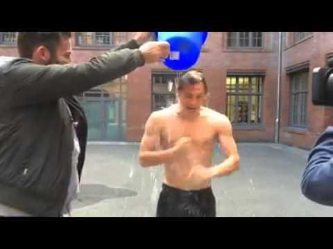 Matthias Schweighöfer ice bucket challenge