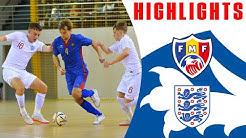Moldova Futsal 3-0 England Futsal | Highlights | EURO 2022 Preliminary Qualifying | Futsal Lions