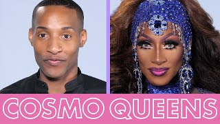 Drag Race Contestant Jaida Essence Hall Creates a Royal Blue Drag Look Fit 4 a Queen | Cosmo Queens