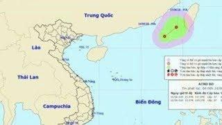 Dự báo thời tiết 14/6: Xuất hiện áp thấp nhiệt đới giật cấp 9 trên biển Đông