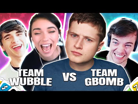 UNO Funny Moments - GBomb VS Wubble!