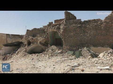 Immense destruction: Visiting ruined al-Nuri Mosque in Mosul, Iraq