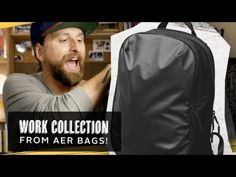 Aer Work Collection Backpacks!