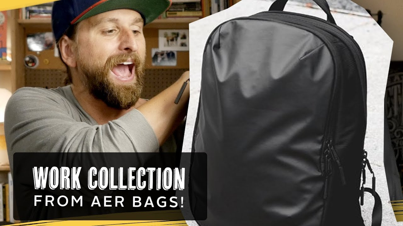 cd20a1ef84fa Aer Work Collection Backpacks! - YouTube