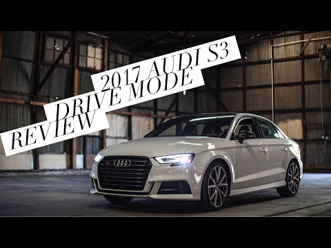 MY NEW CAR 2017 AUDI S3 POV REVIEW
