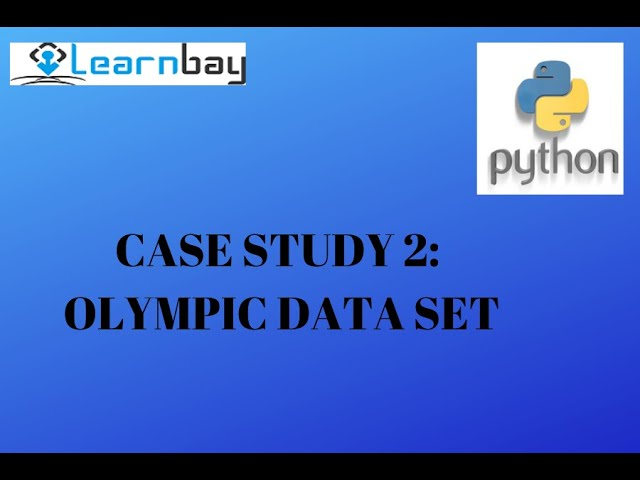 Python-Case Study-2 - Olympic Data Set